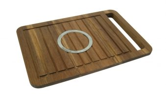 Snijplank 46x30cm Hout Fromage